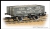 Bachmann 37-040 5 Plank Wagon Steel Fllor 'ICI (Lime)' with Load Weathered